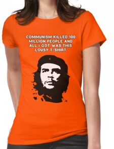 Che Guevara - Communism killed 100 million people Womens Fitted T-Shirt