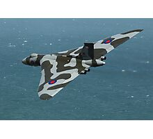 Eastbourne Airshow and the Vulcan Bomber. Photographic Print