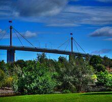 Westgate Bridge by Gerard Rotse