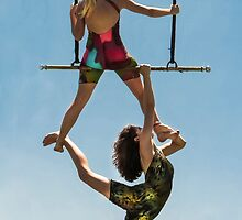 Trapeze Duet by Heather Friedman