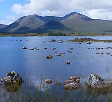 Lochan nah-Achlaise by Nick Atkin