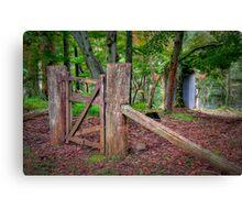 Gate. Canvas Print