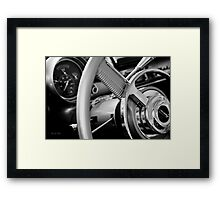 Show and shine Framed Print