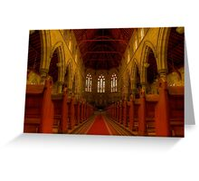 St Peters. Greeting Card