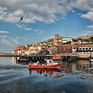 Whitby Harbour by Addo-pix