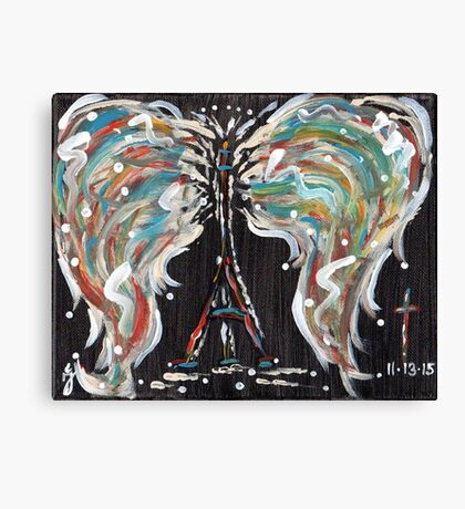 Paris Souls  Canvas Print