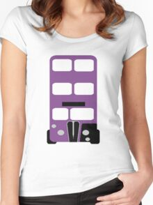 Welcome to the Knight Bus Women's Fitted Scoop T-Shirt