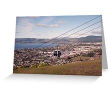 Gondola Ride at Rotorua, New Zealand. Greeting Card
