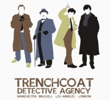 Trenchcoat Detective Agency Kids Clothes