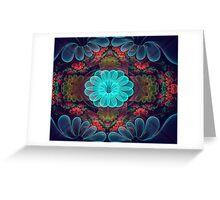 Wax Flowers Greeting Card