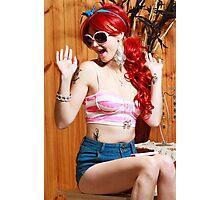 Barbie style Photographic Print