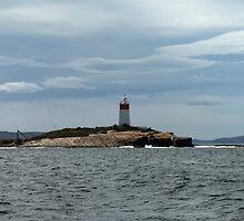 Iron Pot Lighthouse, A Storm Brewing!  by Callum Denholm