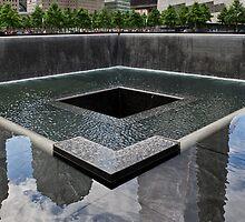 Ground Zero memorial pool by Gary Eason + Flight Artworks