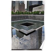 Ground Zero memorial pool Poster