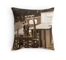 Justice Wins ! Throw Pillow
