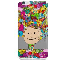 all the world in my head iPhone Case/Skin
