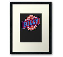 Billy beer  Framed Print