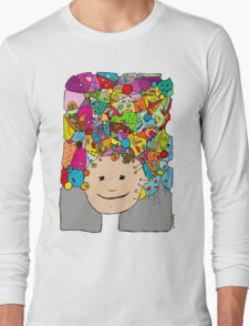 all the world in my head Long Sleeve T-Shirt