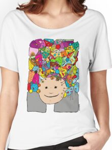 all the world in my head Women's Relaxed Fit T-Shirt