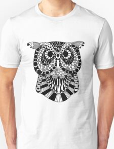 Owl Zentangle T-Shirt