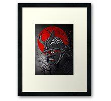 Samurai Z Framed Print