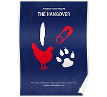 No145 My THE HANGOVER Part I minimal movie poster Poster