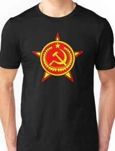 Russia red star Unisex T-Shirt