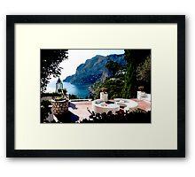 Vista Da Capri Framed Print