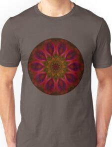 Fire Flower Mandala 4 Unisex T-Shirt