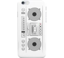 cassette player iPhone Case/Skin