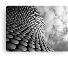 Clouds and Circles Canvas Print
