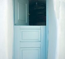 Open Greek Dutch Door by phil decocco