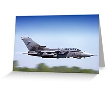 Royal Air Force Panavia Tornado GR.4 ZD707/077 Greeting Card