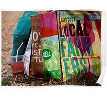 Farmer's Market Tote Bags Poster