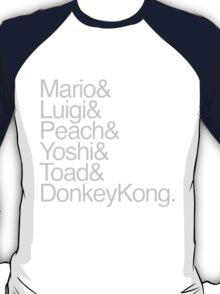Mario + Co. List Shirt (Grey Text) T-Shirt