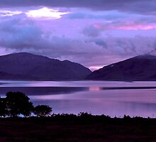 Dusk in the Highlands by Jacky Cooper