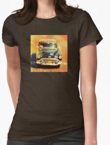 Classic Cuba Womens Fitted T-Shirt
