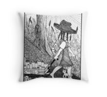 Country Girl: Honey Sale Throw Pillow