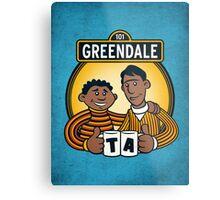 Greendale Street  Metal Print
