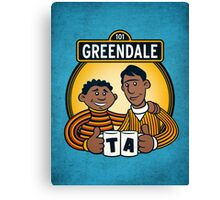 Greendale Street  Canvas Print