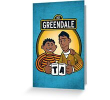 Greendale Street  Greeting Card