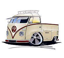 VW Splitty Pick-Up (RB) Photographic Print