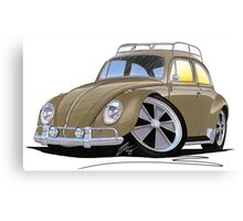 VW Beetle (Custom G) Canvas Print