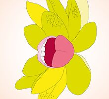 Flower Mouth Cream by Michelle Liebenberg