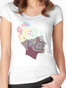 Intergalactic Grimes Women's Fitted Scoop T-Shirt