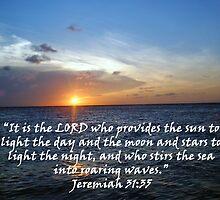 """""""Jeremiah 31:35""""  by Carter L. Shepard by echoesofheaven"""