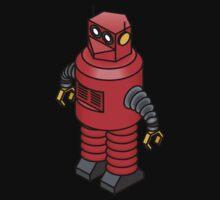 Tin toy robot Kids Tee