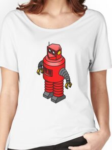 Tin toy robot Women's Relaxed Fit T-Shirt