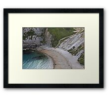 Man 'o War Bay Framed Print
