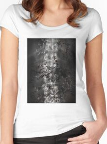 Death (Ant Temple) Women's Fitted Scoop T-Shirt